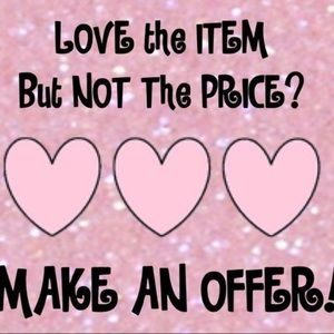 💕 ALL REASONABLE OFFERS WELCOME 💕